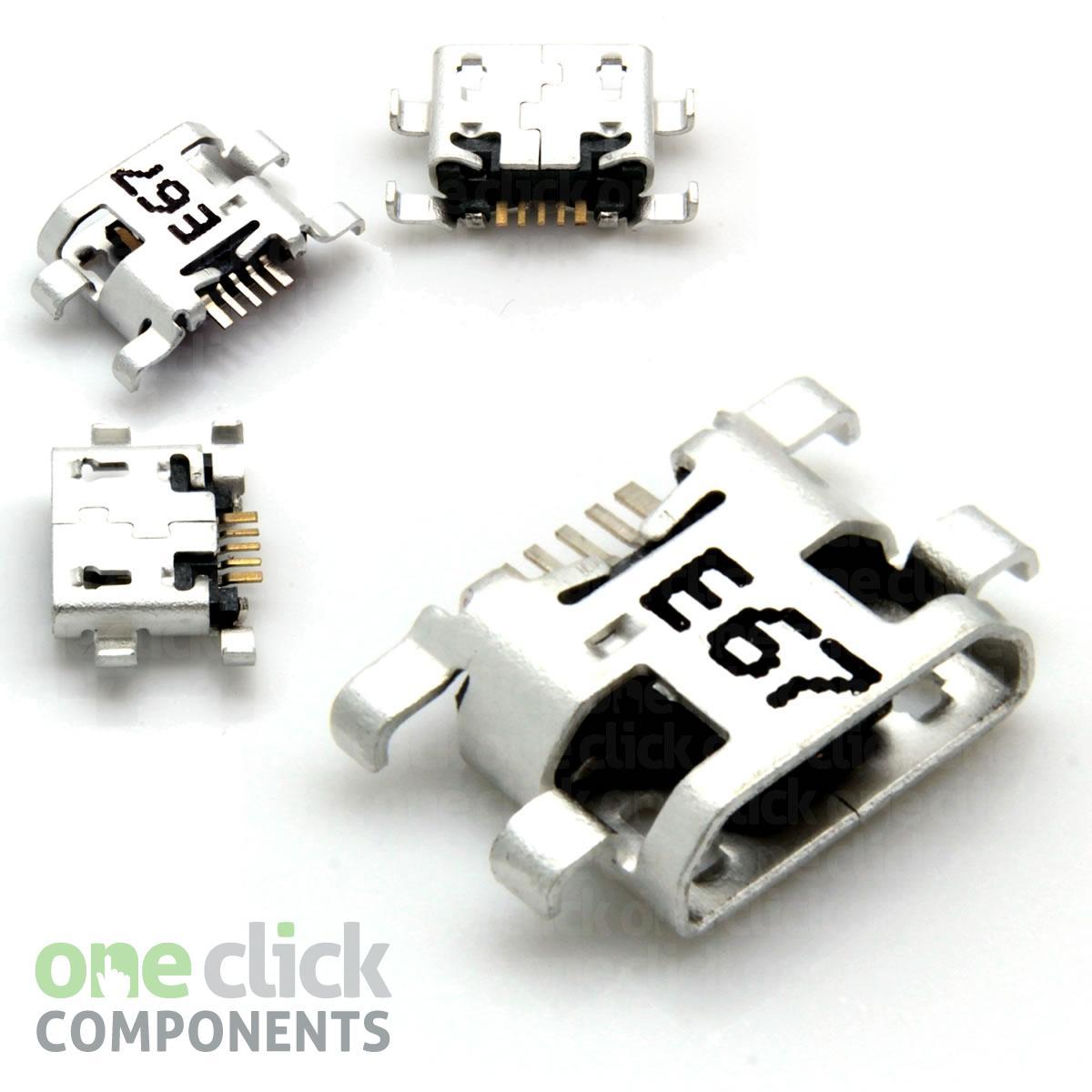 DC AC Scheda Ricarica Porta Micro USB PORTA Tesco Hudl 1 Connettore Ricambio