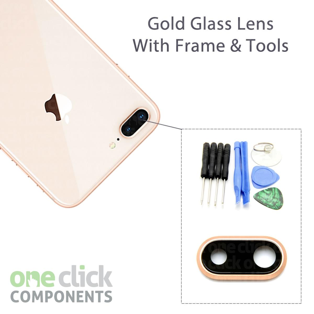 New Replacement REAL GLASS Camera Lens Cover for Apple iPhone 8 5.5